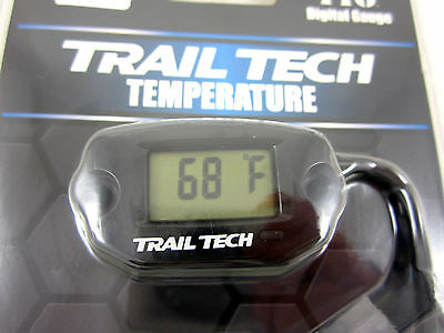 Trail Tech Temperature Meter M6 x 10 Black 742-ES1