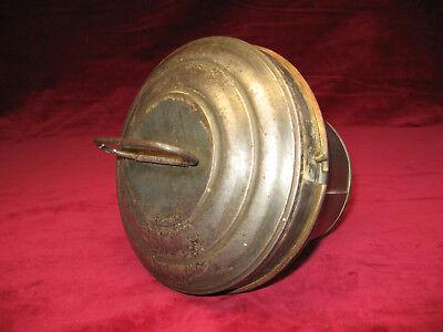 Gugelhupf form Backform m.Deckel Antik selten 17x14cm,sehrschönes gut Erhaltene