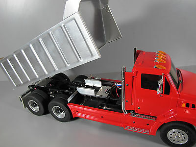 Custom Built Tamiya 1/14 Ford Aeromax Single Cab Semi Dump Truck ESC 2.4GHz