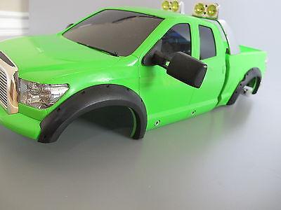 New Tamiya R//C 1//10 Toyota Tundra Crawler Truck Black Rubber Fender Flare Guard