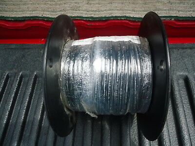 New Spool/wire P/n 1015-105-0 100' Long. 10 Awg Pvc Stranded Black