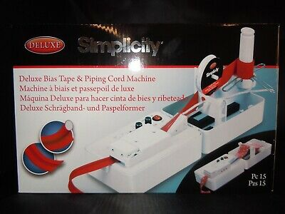 Deluxe Bias Tape & Piping Machine Simplicity Brand New Fast Delivery 2