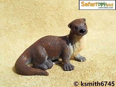 Papo OTTER solid plastic toy wild zoo river water animal NEW *