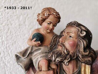 Christophorus 3D Relief Schild 74 x 56 mm zum festschrauben Heiliger Sankt St