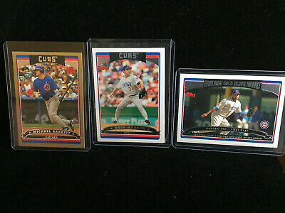 2006 Topps Lot of 27 Chicago Cubs: Maddux, Barrett, GOLD Serial, Rich Hill RC 6