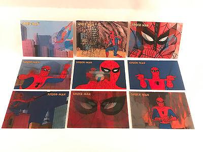 Spider-Man Original Animated Series Lenticular Card Set L1 thru L9