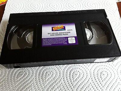 VHS Walt Disney Meisterwerke Die vielen Abenteuer von Winnie Puuh