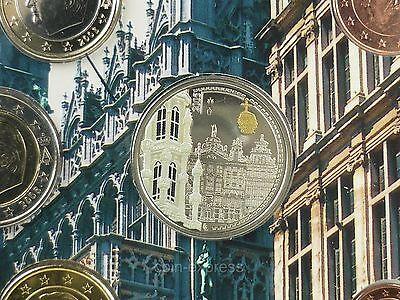 *** EURO KMS BELGIEN 2005 FDC mit Farbmedaille Color Medal Kursmünzensatz ***