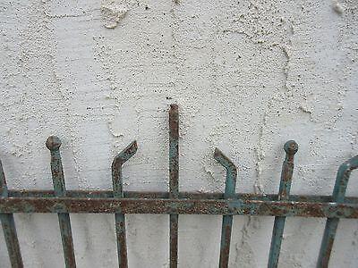Antique Victorian Iron Gate Window Garden Fence Architectural Salvage #884 5