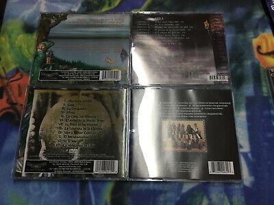 Mago De Oz Lote 4 Discos Cristal Como Nuevos Finisterra,Belfast,Gaia2,Gaia1 4