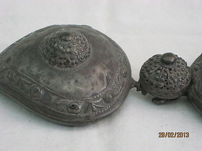ANTIQUE SILVER WOMEN BELT BUCKLES MIDDLE EAST 18th CENTURY 8