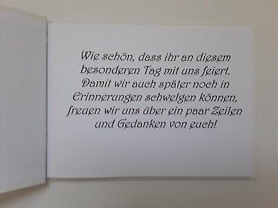 Hardcover-Gästebuch/Fotoalbum, Hochzeit, Hochzeitsbuch, grau-silber, DinA4