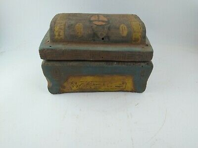 Rare Ancient Egyptian Antique Jewelry  Box 1114-800 Bc 8