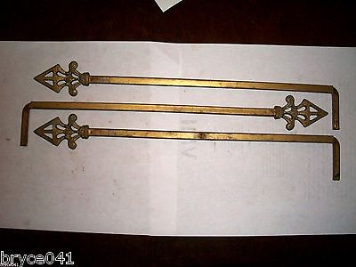 Antique Art Deco Curtain Rods With Extensions 2 • CAD $76.20