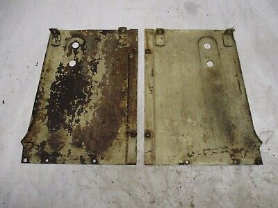Case 400 Tractor Grill Side Panels 2
