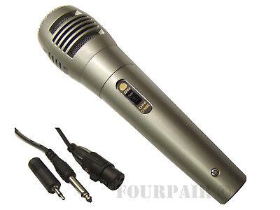 10 Pack Lot Dynamic Uni-Directional Wired Microphone Mic 10ft Cord DJ PA Karaoke