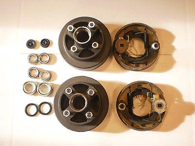 Add Electric Brakes To Trailer Basic Kit 2000 Axle 4 X Lug 7