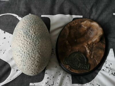Extremely Rare! Jurassic Park Lifesize Velociraptor Egg LE of 500 Statue Prop 5