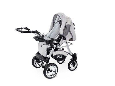 Passeggino TRIO Baby Carrozzina 3in1 Seggioliono OVETTO AUTO GagaDumi Urbano 9