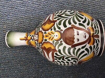 Vase Bogen Apotheke Aufschrift Rosenwasser alt 2