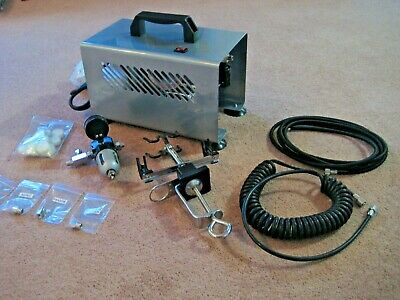 Simair TC2000 Automatic Airbrush Compressor Fully Automatic NEW COMPLETE PACKAGE 2