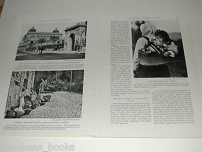 1929 magazine articles x2 on the Danube and Austria, color pics, history, people 5