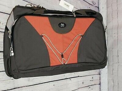 WFS Travel Bag Olive/Red Brick 2