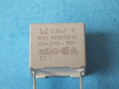 Lot of 5 pcs  HUAJUNG    2.2 uF μF K  MKP-X2    305VAC ±10/%  HJC capacitor