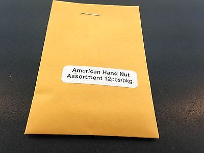 Antique Clock Hand Nut Set for American Movements 12 Piece Assortment 2