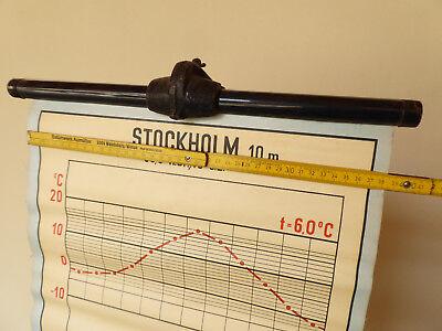 Original Schulkarte Rollkarte Schulwandkarte Stockholm Diagramm 50s 60s Vintage
