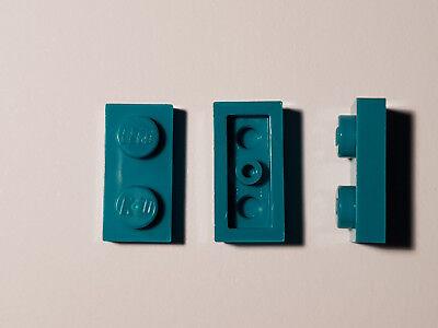 Lego 6x Platte 1x2 3023 hellblau NEU ehbln2