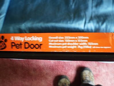 Pet door 4 way 3