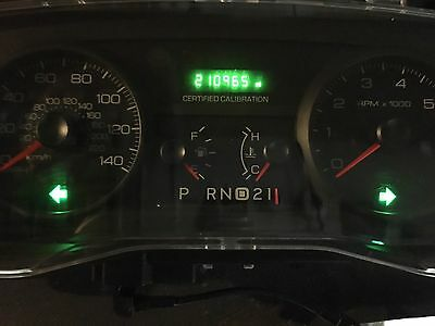 Repair Service  Ford Crown Victoria Cvpi Gauge Cluster Odometer Display