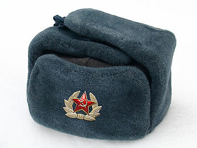 1 of 12FREE Shipping Original Ushanka Russian USSR Soldier Military Winter  Hat with Badge Arctic ver. 2 c358f531872