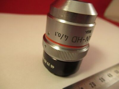 Zeiss Pol Objectif Epiplan HD 4 X / 160 Microscope Pièce comme sur Photo # 4