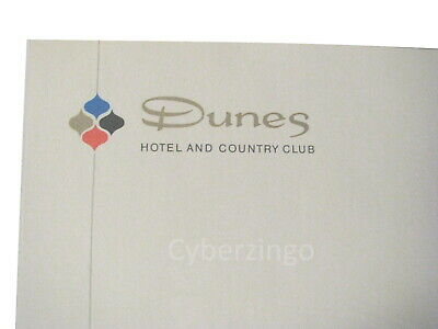 Dunes Hotel And Country Club Las Vegas Vintage Stationary And Envelope 4