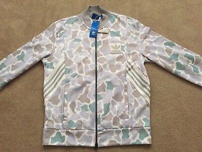 Mens adidas Originals Teorado Camo FZ Hoodie Jacket Top