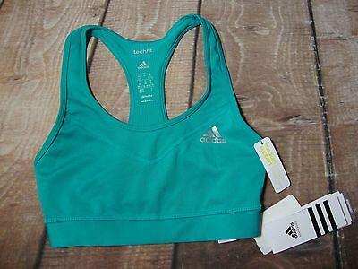 424f818d04 ... Adidas Women s TECHFIT Sports Bra Top Workout Running Tennis Training  Yoga Gym 2