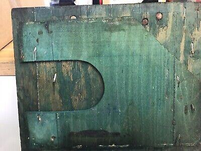 Vintage Antique Mars Equipment USA Wooden Box E.F.S. INC New York US MFG 10