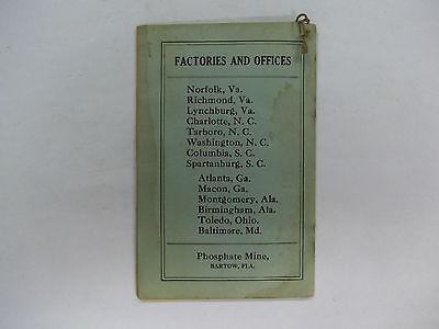 Vintage 1926 Roysters Almanac 48 pages 2