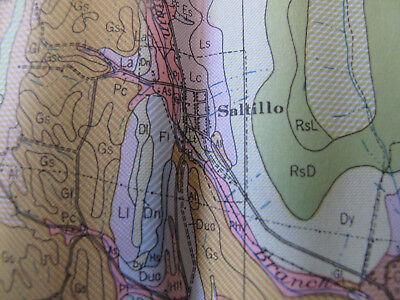 Color Soil Survey Map Huntingdon County Pennsylvania Mount Union Rockhill 1944 5