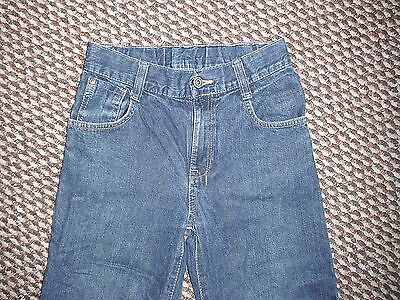 "Next Loose Jeans Waist 26.5"" Leg 26"" Faded Dark Blue Boys 11 Yrs Jeans 2"