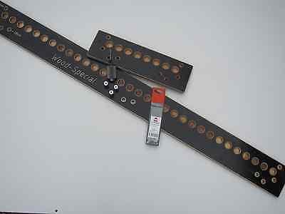 Bohrlehre easy32 Bohrschablone Lochreihe 32er System L+R Topfbänder Bodenträger