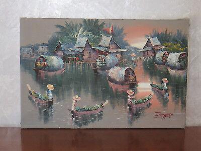 Tableau Peinture Thailande,Jusqu À 71% Moins