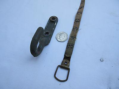 vintage old Alminal metal aluminium wall hook coat peg 2