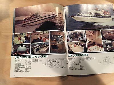 CHRIS CRAFT 1984 Cruisers / Catalina / Commander Boat Brochure / Catalog
