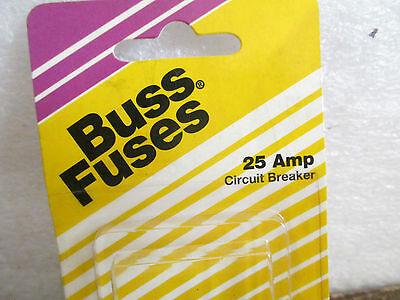 Bussmann  BP/Ccb25 Fuse Circuit Breaker fuse 25 AMP 14.5 Volt Max 2