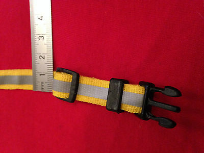 Reflective Cat Dog Puppy Collar with bell COLOUR SELECTION red yellow black etc 4