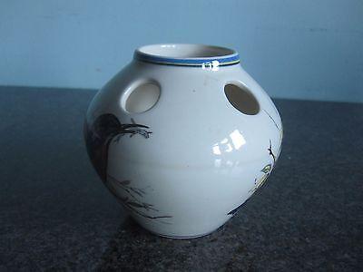 Brixham Pottery - Posy Vase - Birds
