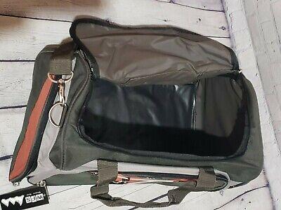 WFS Travel Bag Olive/Red Brick 6